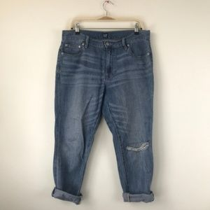 Gap Girlfriend Crop Jeans Size 29